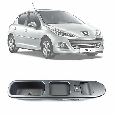 Brand New Peugeot 207 2006 - 2015 Single Window Control Switch With Frame 4 Pin