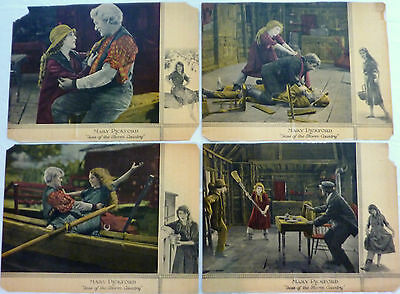 """Mary Pickford - 4 Original Lobby Cards From """"Tess Of The Storm Country"""" - 192"""
