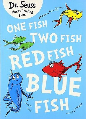 One Fish, Two Fish, Red Fish, Blue Fish by Dr. Seuss (Paperback, 2011)