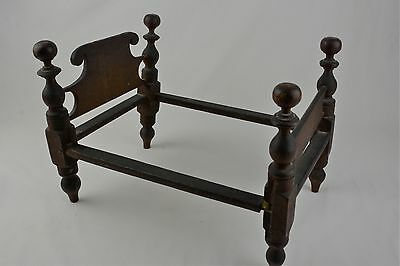 Circa 1860- Miniature Doll Bed- Child's Play