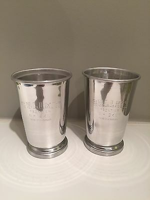 NEW! Bulleit Bourbon Metal Cups Julep Whiskey Kentucky