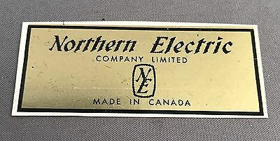 Antique Telephone Water Decal - Northern Electric with Logo - SKU - 24402