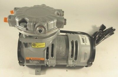 Gast LOA-P175-AA Vacuum Pump Oilless Rocking Piston (115VAC, 2.44A, 60Hz)