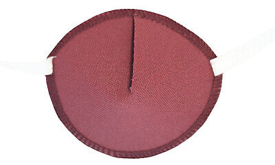Medical Eye Patch, DUSKY PINK, For Right or Left Eye, Soft and Washable