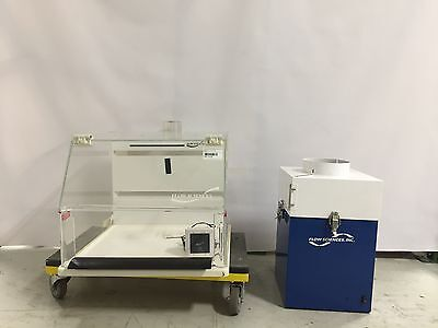 Flow Sciences VBSE 201 Balance Hood With Flow Sciences FS400 Blower