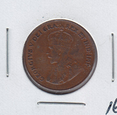 1924 Canada One Cent - Key Date Penny