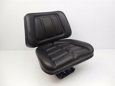 A&i Full Suspension Trapezoid Backrest Replacement Seat For Forklift Tractor