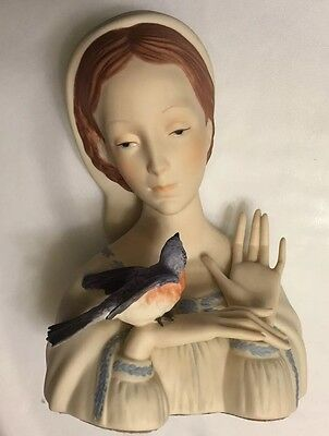 Cybis Madonna With Bird