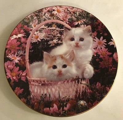 Royal Worcester Plate - Age Of Innocence Collection - Strawberry Crush 1994