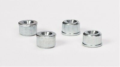 Wire Shelving Pole Inserts - Screw In or Push In - 4 pack