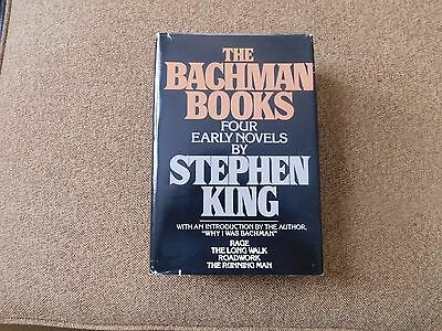 The Bachman Book Four Early Novels By Stephen King 1985 Hardcover