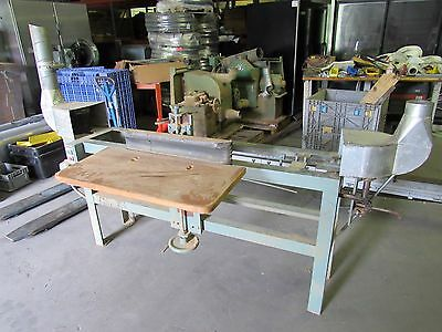 "EDGE BELT SANDER 4""x 180"" W/ DAYTON MOTOR 5HP 208/230/440V 3PH (WE SHIP FREIGHT)"