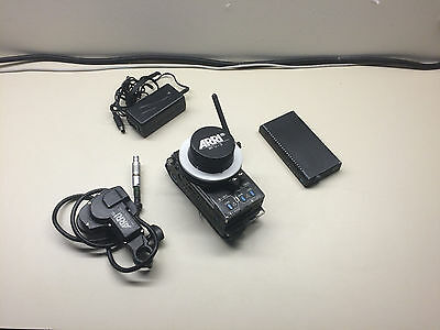 Arri Wireless Follow Focus WFU-3 Controller, CLM-2 Lens Motor