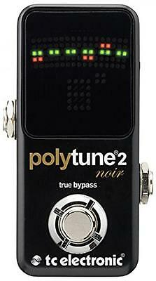 NEW TC Electronic Polytune Noir Mini 2 Pedal Tuner Japan with Tracking F/S