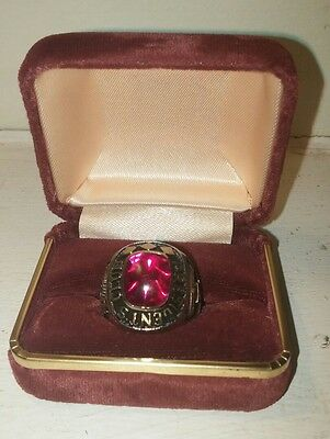 Coca Cola Atlanta Classic Authentic Presidents Club Ring Collectible Jewelry 10