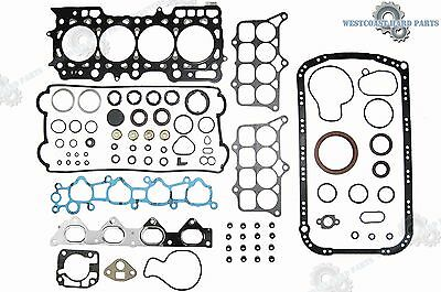 92-96 HONDA Prelude Si SE 2.3L DOHC H23A1 Complete FULL GASKET Replacement Set