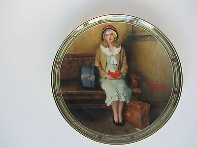 """Knowles Collector Plate """"A Young Girl's Dream"""""""