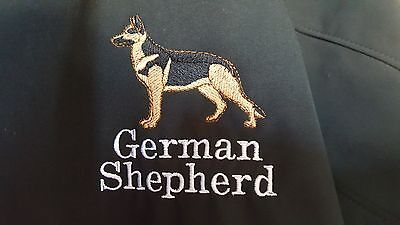 German Shepherd Embroidered Winter or Fall Jacket - Left Chest -  XL
