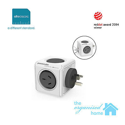 Allocacoc Original Cordless Powercube USB Charger Power Double Adapter