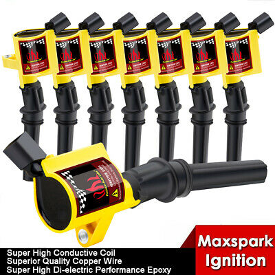 8x Racing-force Performance Ignition Coils for 97~03 F-150 5.4L/00~09 F-150 4.6L