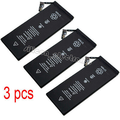 3Pcs New Battery For Apple iPhone 6 A1549 A1586 A1589 616-0804 616-0805 616-0809