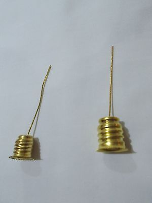 HANGERS For Used / Spent Christmas FIGURAL Bulbs ~ C-7's / USE as Ornaments