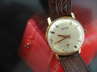 RARE! 50s VINTAGE GRUEN  AUTOMATIC NEW OLD STOCK,ORIGINAL BAND,NO SCRATCHES