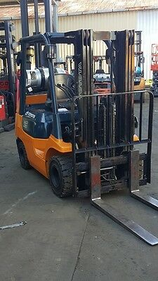 Toyota Forklift 2.5 Ton 4300mm Container Mast Low Hrs Fresh Paint $12999+GST