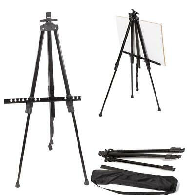 Adjustable Artist Aluminium Tripod Easel Stand WhiteBoard Poster Display Wedding