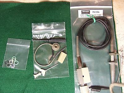 Tek Tektronix P6139A 500 MHz Probe - Tested w/All Accessories
