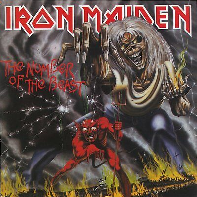 Iron Maiden - The Number Of The Beast - Vinyl Lp - New