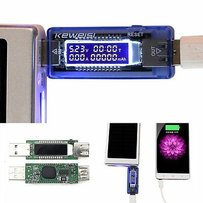 Mini USB Charger Current Doctor Voltage Meter Phone Safety Power Tester Detector