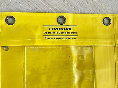 Waterproof Document Bag Document holders Logbook Pouch For Forklift Truck Driver