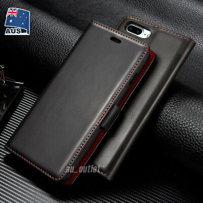 iPhone XS MAX XR X 8 7 Plus Luxury Flip Cover Wallet Card Leather Case For Apple