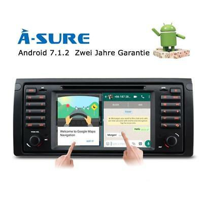 Android 7.1.1 DVD GPS Quad Core WIFI BT&3G  Autoradio für BMW E39  E53 X5 M5