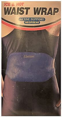 Active Support Neoprene Ice & Hot Waist Strap Thermal Therapy *unboxed*