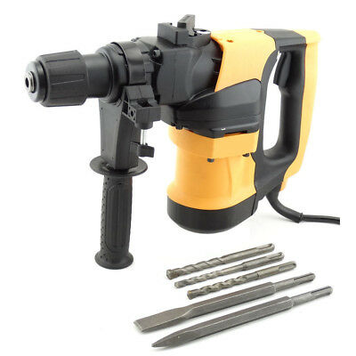 Heavy Duty 1680W Rotary Hammer Drill Demolition Hammer Concrete Breaker 240V SDS