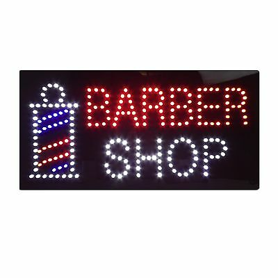 New Barber Shop Flashing Led Hanging Sign High Quality Window Sign Board
