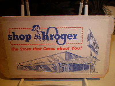 Kroger Grocery Advertising Piece - A SEWING KIT of Needles