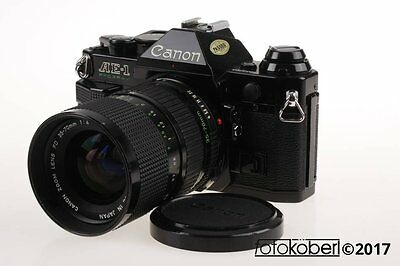 CANON AE-1 Program mit 35-70mm f/4,0 - SNr: 18022296