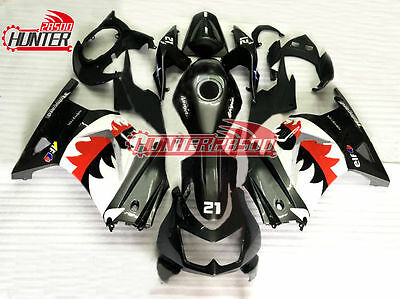 Fairing Panel Frame Kit for Kawasaki Ninja 250 EX250R 2008-2012 Gray Black