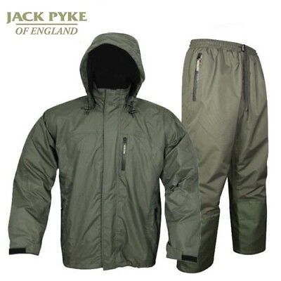 Jack Pyke Technical Featherlite Jacket & Trouser Set Waterproof All Sizes