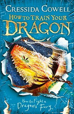 How to Fight a Dragon's Fury: Book 12 (How by Cressida Cowell New Paperback Book