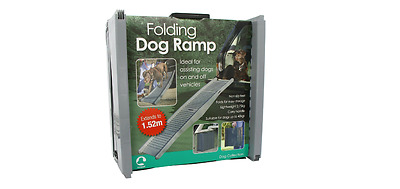 Vehicle Travel Ramp Folding Assists Dog Mobility In And Out Of Cars **Free P&P**