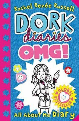 Dork Diaries OMG: All About Me Diary! by Rachel Renee Russell New Paperback Book