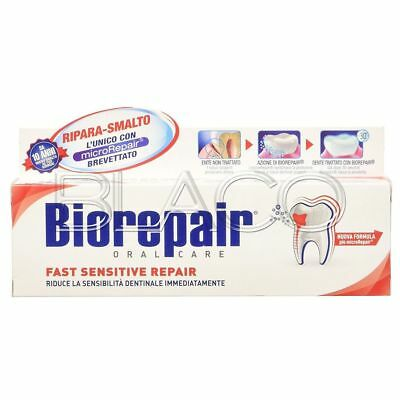 Biorepair Dentifricio Per Denti Fast Sensitive Repair - 75 Ml