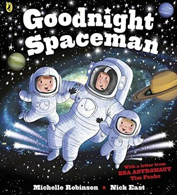 Goodnight Spaceman (Goodnight 6) by Michelle Robinson New Paperback Book