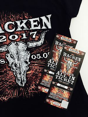 2 Wacken 3Day all-in Tickets