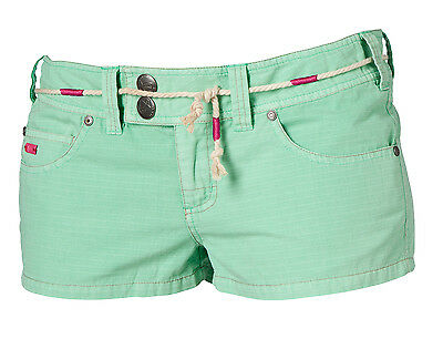 "Mystic Damen Walkshort ""Checking Out"" Paradise green"