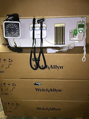 Welch Allyn  Intergrated Wall System Ophthalmoscope & Otoscope